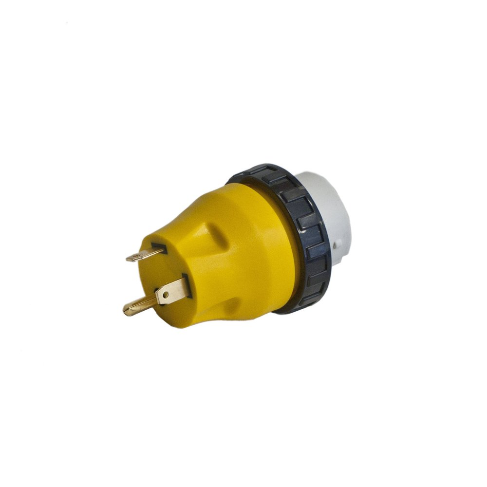 medium resolution of aleko l30 50 rv electrical locking adapter 30a male to 50a female locking plug connector