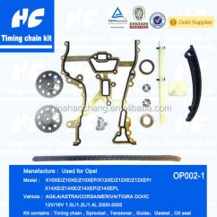 Vauxhall Corsa Timing Chain Diagram 2007 International 4300 Air Conditioning Wiring Kit Used For Opel Agila Astra Meriva
