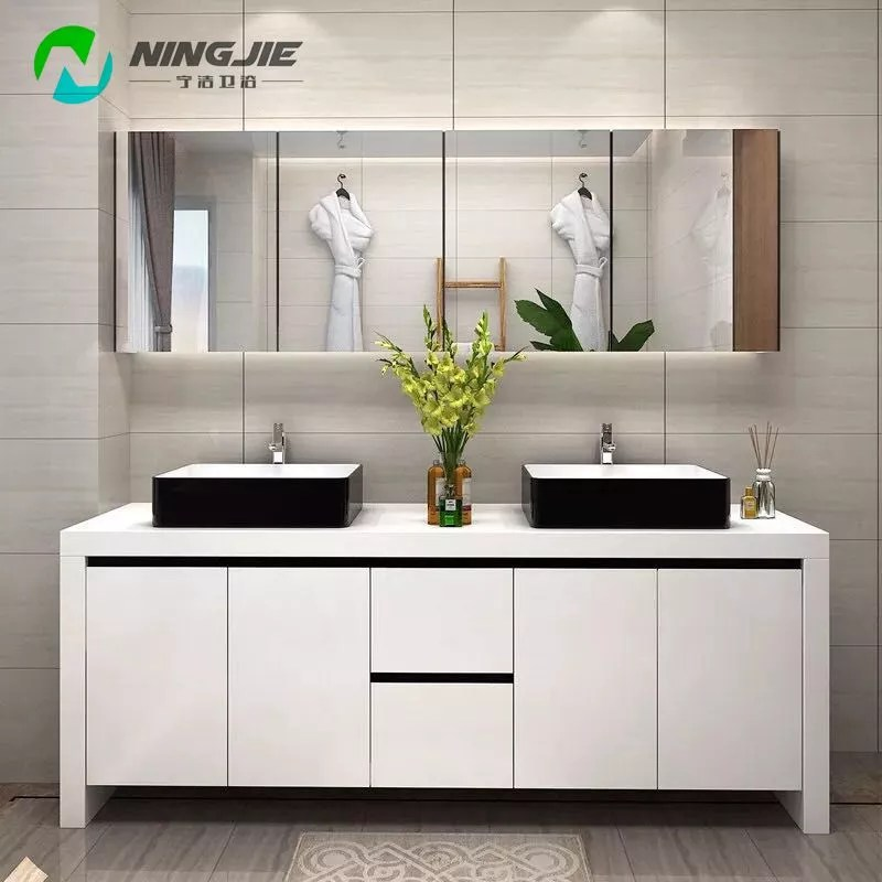 Modern Style Commercial Double Sink Mirror Bathroom Cabinet Bathroom Vanity Buy Commercial Bathroom Vanities Double Sink Cabinet Bathroom Vanity Mirror Bathroom Vanity Product On Alibaba Com