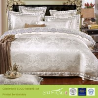 Comforter Sets Luxury Wedding Lace Modal Bedding Set In ...