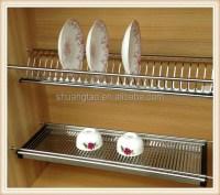 Stainless Steel 201kitchen Dish Rack For Kitchen Cabinet ...