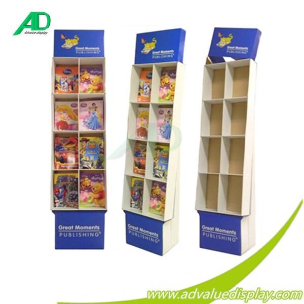 Good Quality Corrugated Cardboard Magazine Books Display