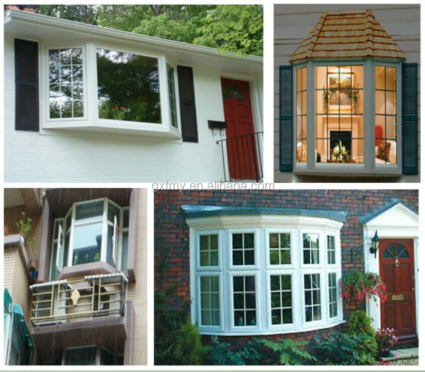 The Pictures Aluminum Bay Window With French Glass