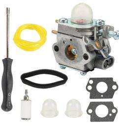 get quotations mckin 753 06190 wt 973 carburetor with air filter adjustment tool for troy bilt [ 1000 x 1000 Pixel ]