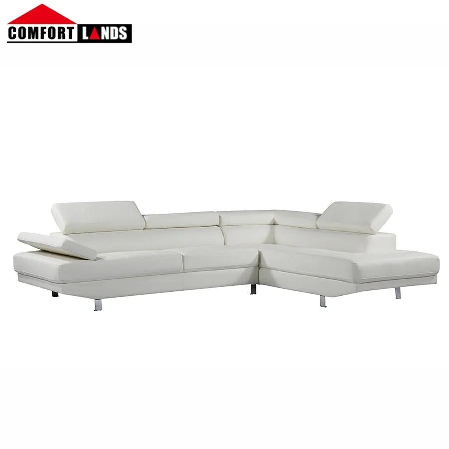 amazon heisser verkauf leder l form schnitts sofa couch mit chaise lounge weiss schwarz braun buy leder couch schnitts l form schnitts sofa