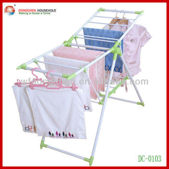 clothes hanger stand for