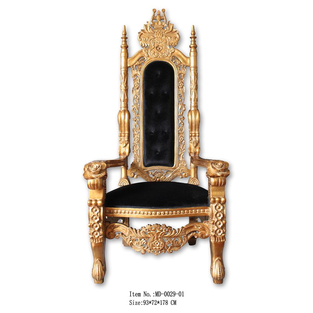 Oro Antiguo Rey De Trono Silla En Venta Caliente