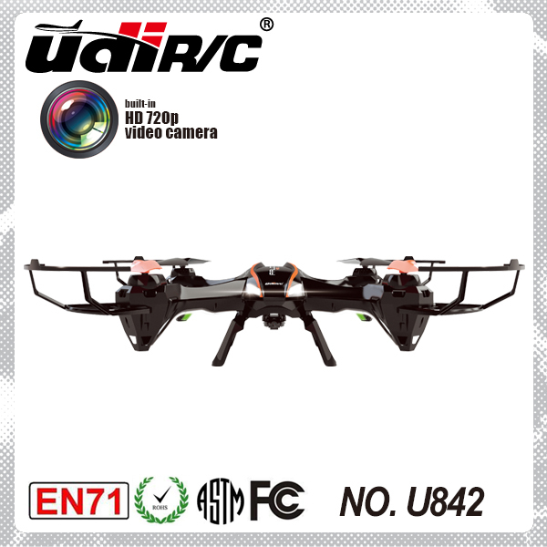 Udi U842 Remote Control Quadcopter With Hd Camera Funning