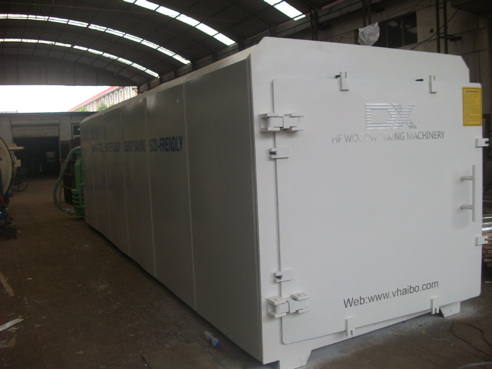 Vacuum Kiln Drying Wood