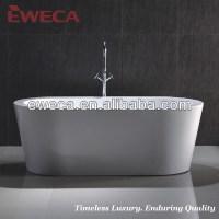 kunststoff eweca freistehende badewanne fr eine person ...