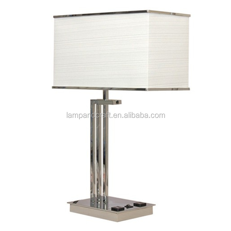 2015 Ul Cul Hotel Handicraft Table Lamp With Usb Port And