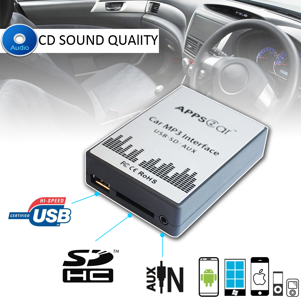 medium resolution of appps2car usb car adapter with usb sd aux for renault 8p jvc car audio wiring diagram