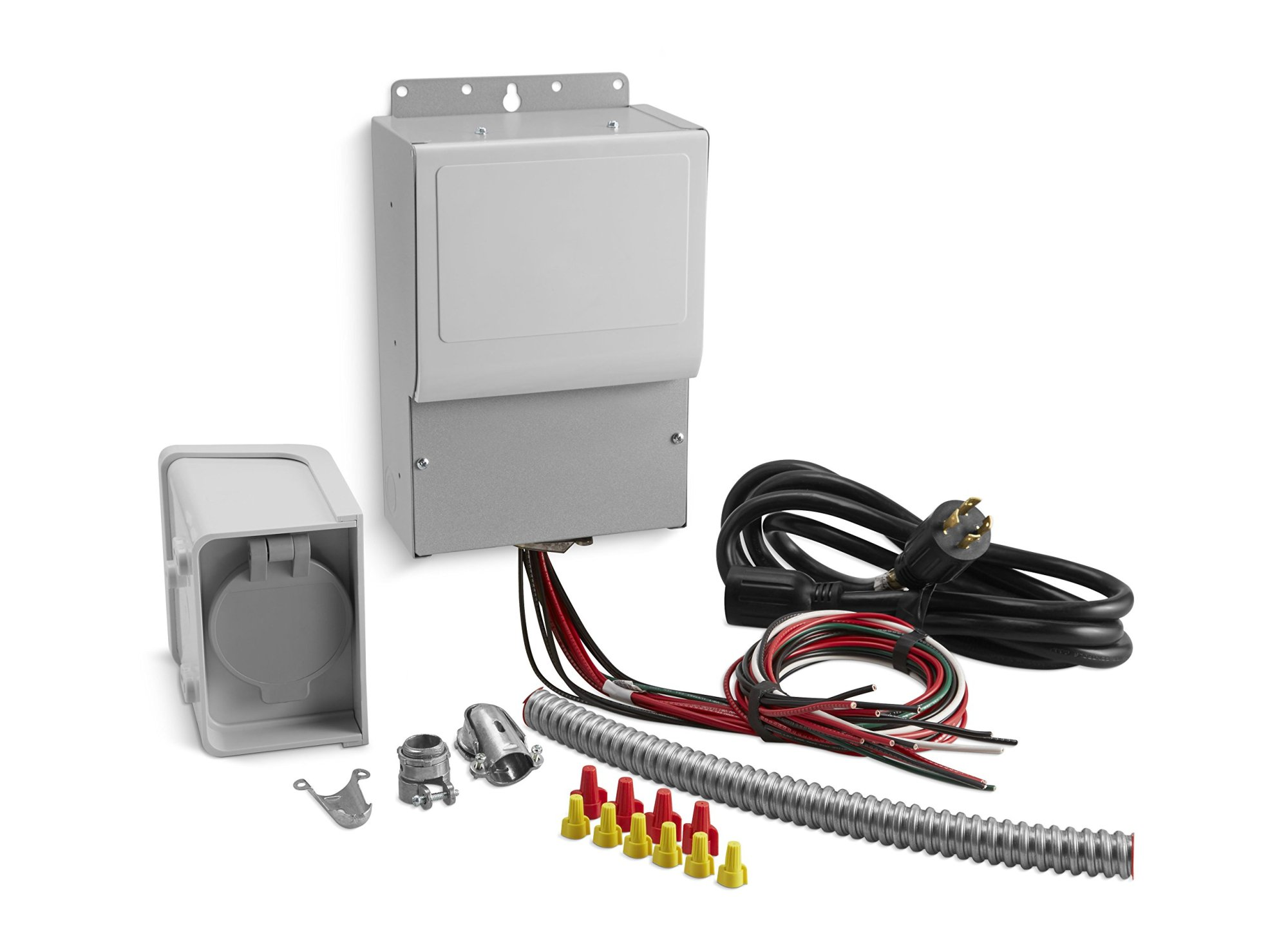 hight resolution of get quotations kohler 37 755 06 s 6 circuit manual transfer switch kit for portable generators