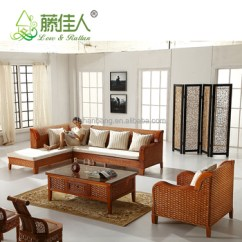 Corner Sofa Set Latest Design Garden Furniture Sofas Uk Hotselling Wicker Bamboo Cane Wood ...