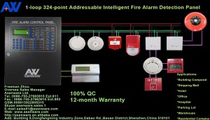 Africa Hotel Addressable Fire Detection Alarm System With