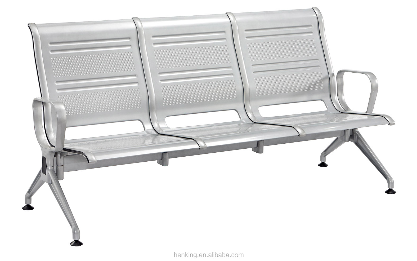 Waiting Room Chairs Cheap Henking High Quality 3 Seater Stainless Steel Airport