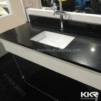 Black Granite Kitchen Table Top,Prefabricated Kitchen ...