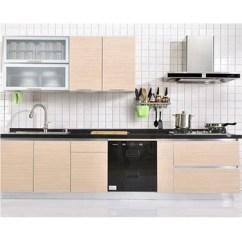 Kitchen Pantry Cupboard Dark Cherry Cabinets Simple Design Cheap Price Modular Cupboards Buy