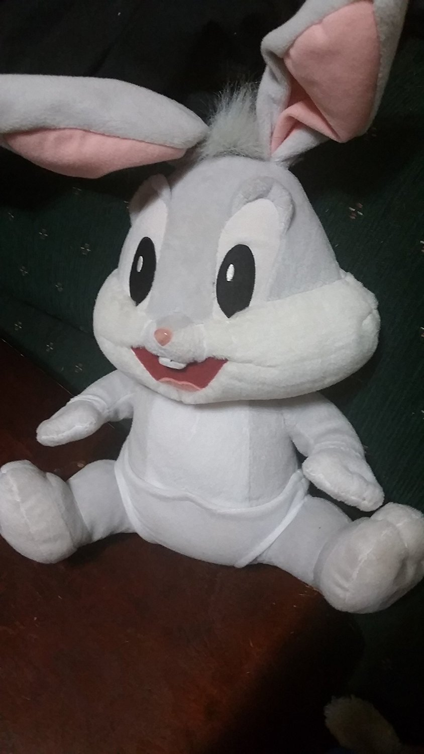 Buy 1999 Baby Looney Tunes Talking Bugs Bunny Sitting 16 Plush If Your Happy In Cheap Price On Alibaba Com