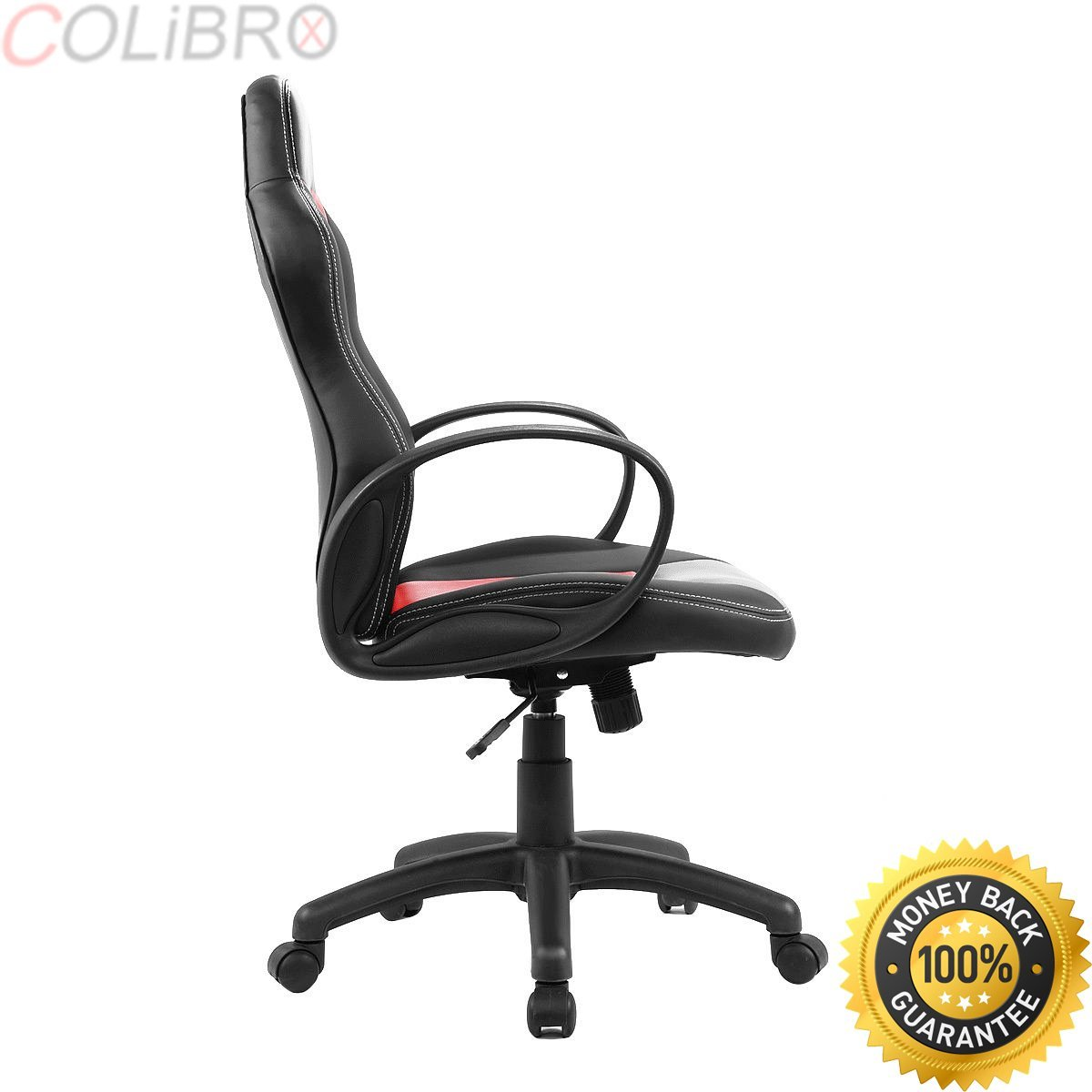 racing seat office chair diy g plan chairs cheap gaming find deals on line at alibaba com get quotations colibrox new high back race car style bucket desk