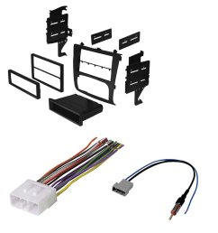 nissan altima select years car stereo radio cd player receiver install mounting kit wire harness radio [ 1000 x 1000 Pixel ]