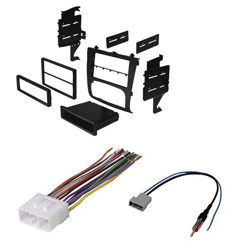 small resolution of nissan altima select years car stereo radio cd player receiver install mounting kit wire harness radio