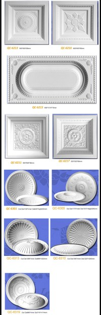 Square Lighting Ceiling Tiles Domes Pu Ceiling Medallions ...