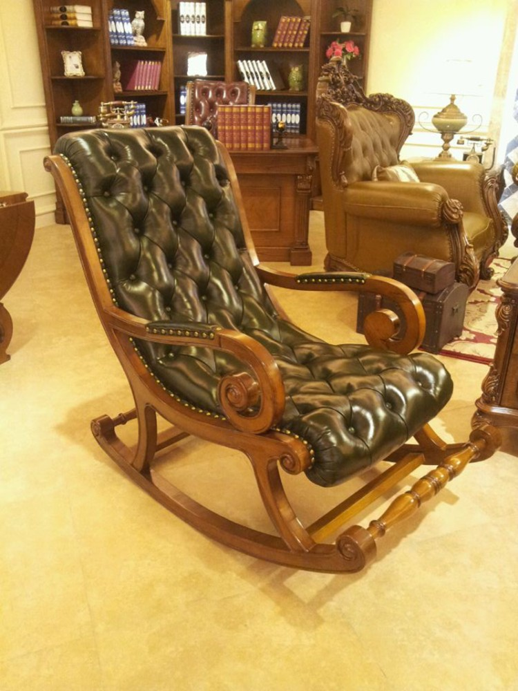 antique wooden rocking chairs dutch design chair youtube and leather buy