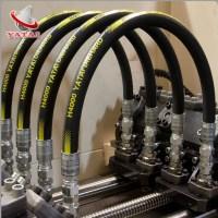 Flexible Hydraulic Hose 2sn Steel Reinforced Rubber Hose ...