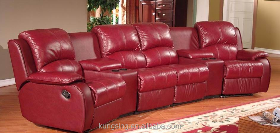 lazy boy leather living room furniture framed mirrors for red home theater recliner sofa buy