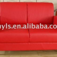 Red Leather Two Seater Sofa Domino 3 Piece Left Arm Sectional Color