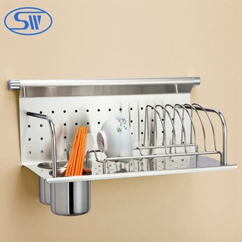 metal kitchen rack big tiles wdj506 stainless steel wall hanging plate buy