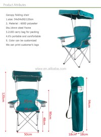 Canopy Chair Sports Camping Armrest Shade Chair - Buy ...