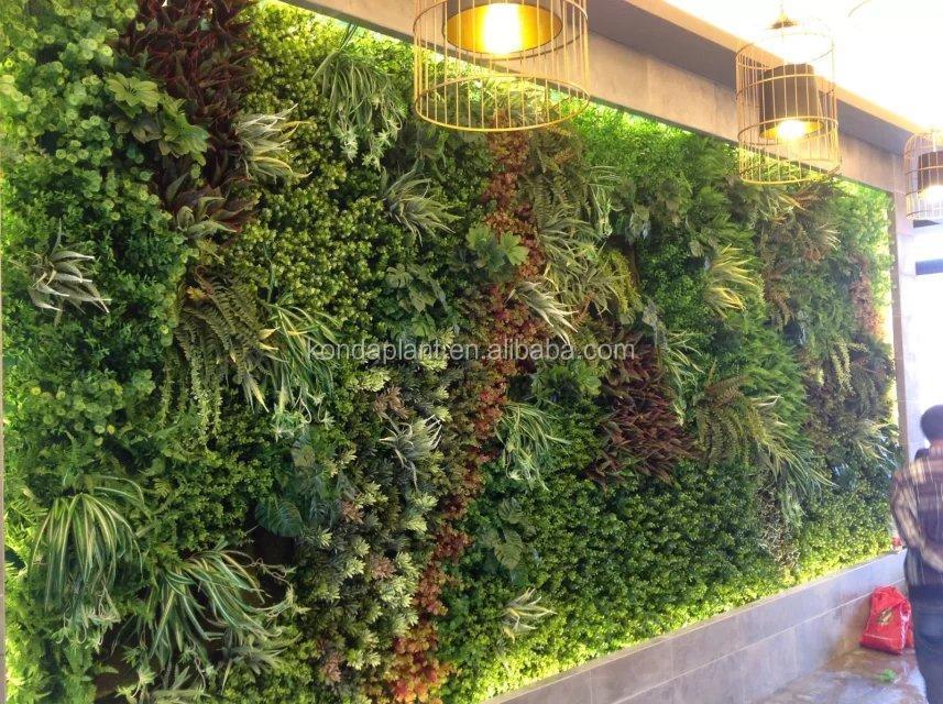 China Indoor  Outdoor Artificial Plants Wall Artificial