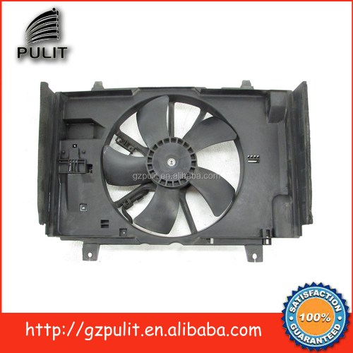 small resolution of car ac condenser radiator fan for 07 11 versa slphy 2 0 radiator cooling fan motor shroud blade oem 21487ew00b
