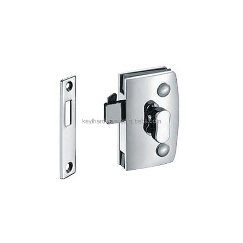 small resolution of thumb turn door lock for double swinging glass door commercial glass door lock