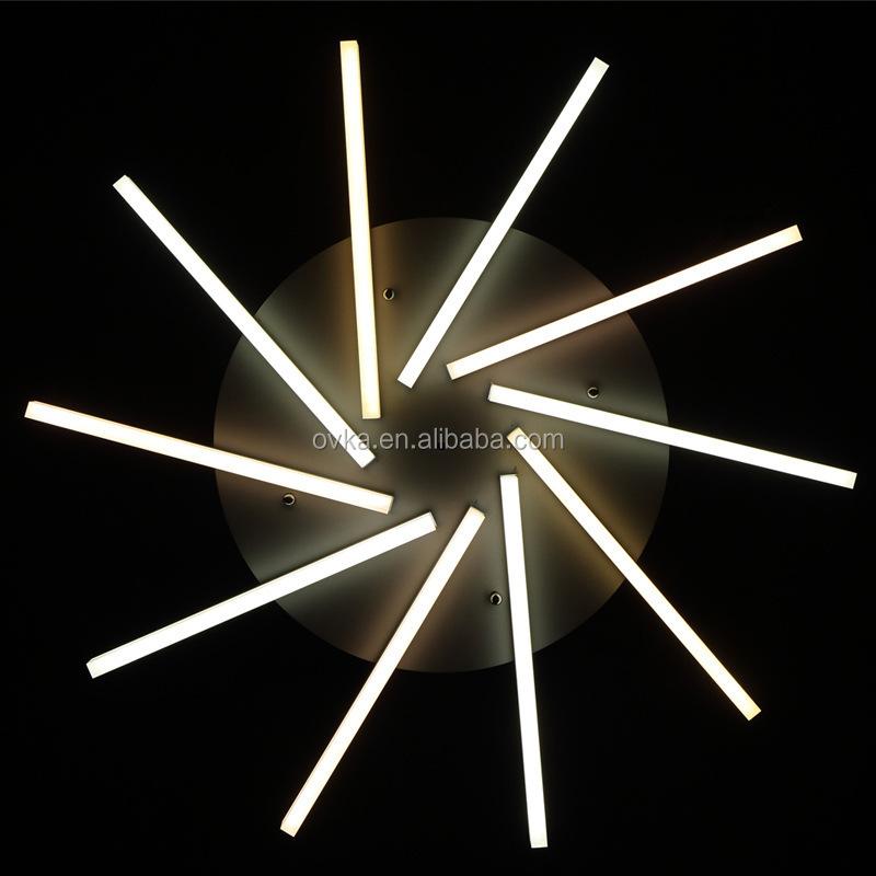Moderne slaapkamer woonkamer LED plafondlamp Acryl grote