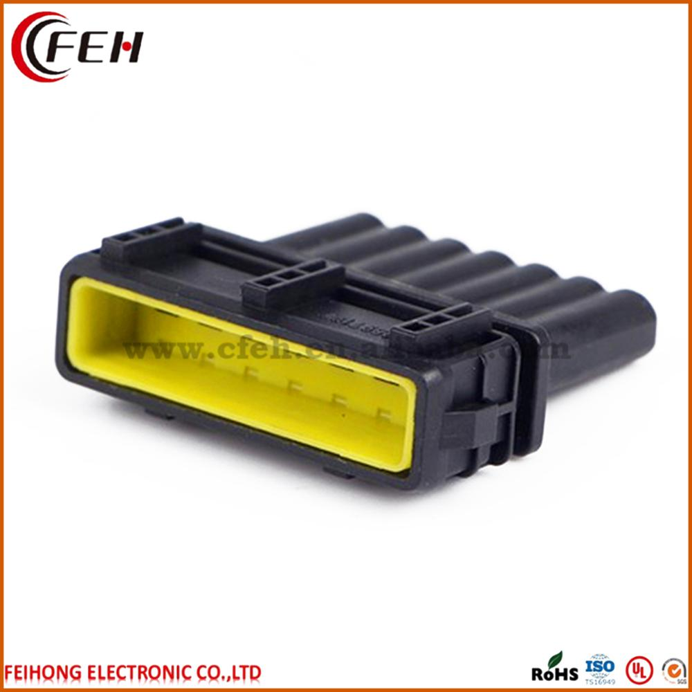 medium resolution of male female wiring harness connectors 7 pin male connector dj7071 3 5 11