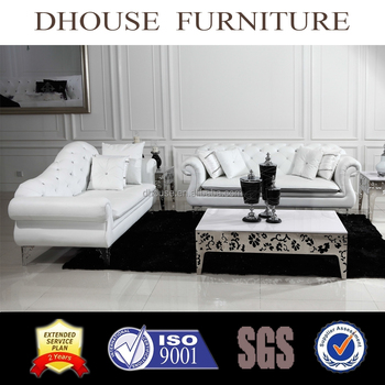 chesterfield style fabric sofa curved corner leather new classic with crystal buttons al135