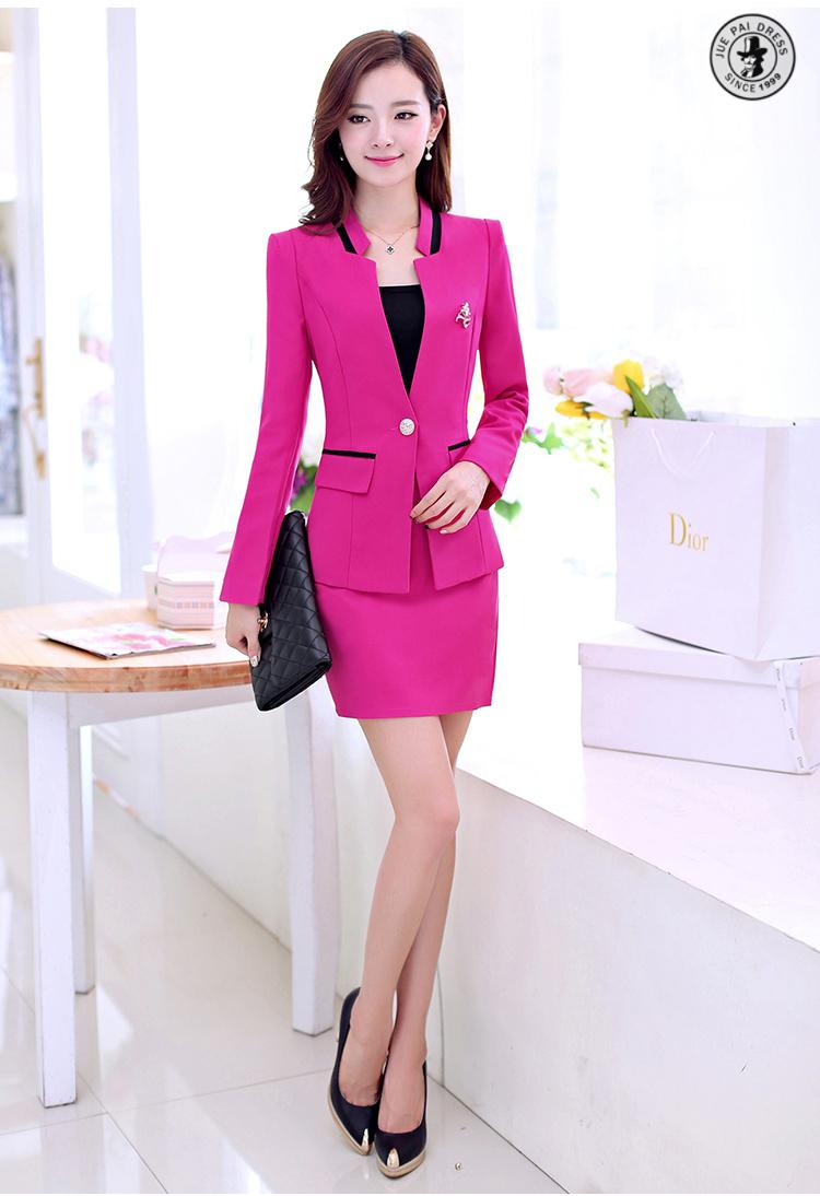 Ladies Designer Skirt SuitsLadies Office Wear Suit