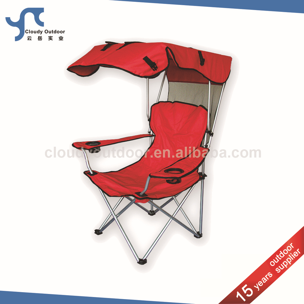 Camping Chair With Canopy Foldable Beach Sunshade Folding Camping Chair With Canopy Buy Foldable Beach Sunshade Folding Beach Chair With Canopy Camping Beach Chair With