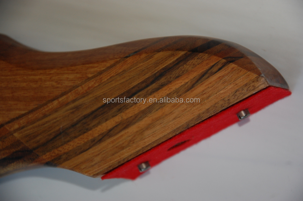 Wooden Riser Bow Pvc