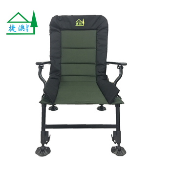 fishing chair legs high for adults recliner outdoor folding camping carp heavy duty 4 adjustable