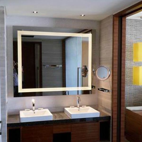 Espejos De Bao Con Luz Como Comentbamos Al Principio Con Un Espejo Se Puede Dar La Sensacin De Que Una Habitacin Es Ms Grande De Lo Que Parece Y
