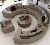 Circular Sofas Sofas Awesome Living Sofa Circular ...