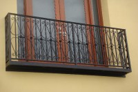 Antique Outdoor Decorative Wrought Iron Balcony Railing ...