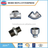 Cast Iron Galvanized Thread Pipe Fitting For Plumbing ...