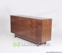 Nd536 Nasida Modern Storage Cabinet Mdf Walnut Sideboard