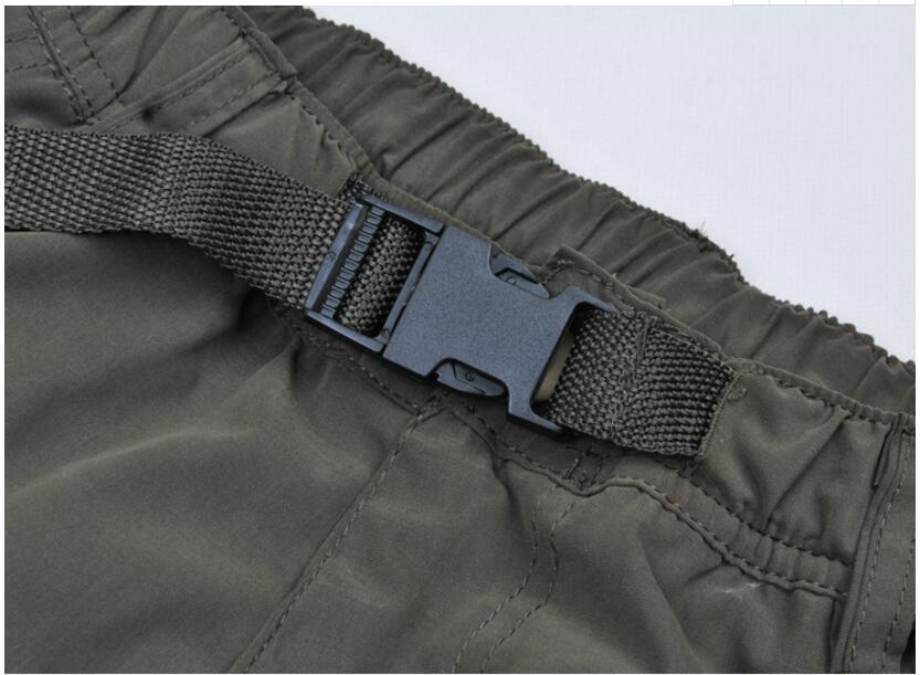 Men's Cargo Pants 2019 Winter Casual Warm Thicken Fleece Pants Men Cotton Multi Pockets Combat Military Baggy Tactical Pants 45