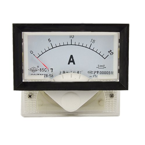 small resolution of get quotations measure 85c17 dc 0 20a amp pointer analog panel ammeter 0 00ammeter20 0